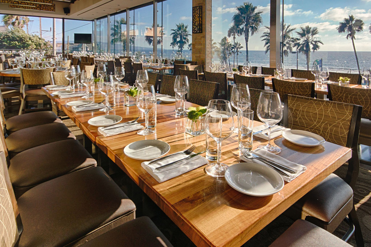 The strand house manhattan beach california for Best private dining rooms los angeles
